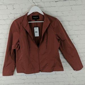 Lafayette 148 New York Zip Up Jacket